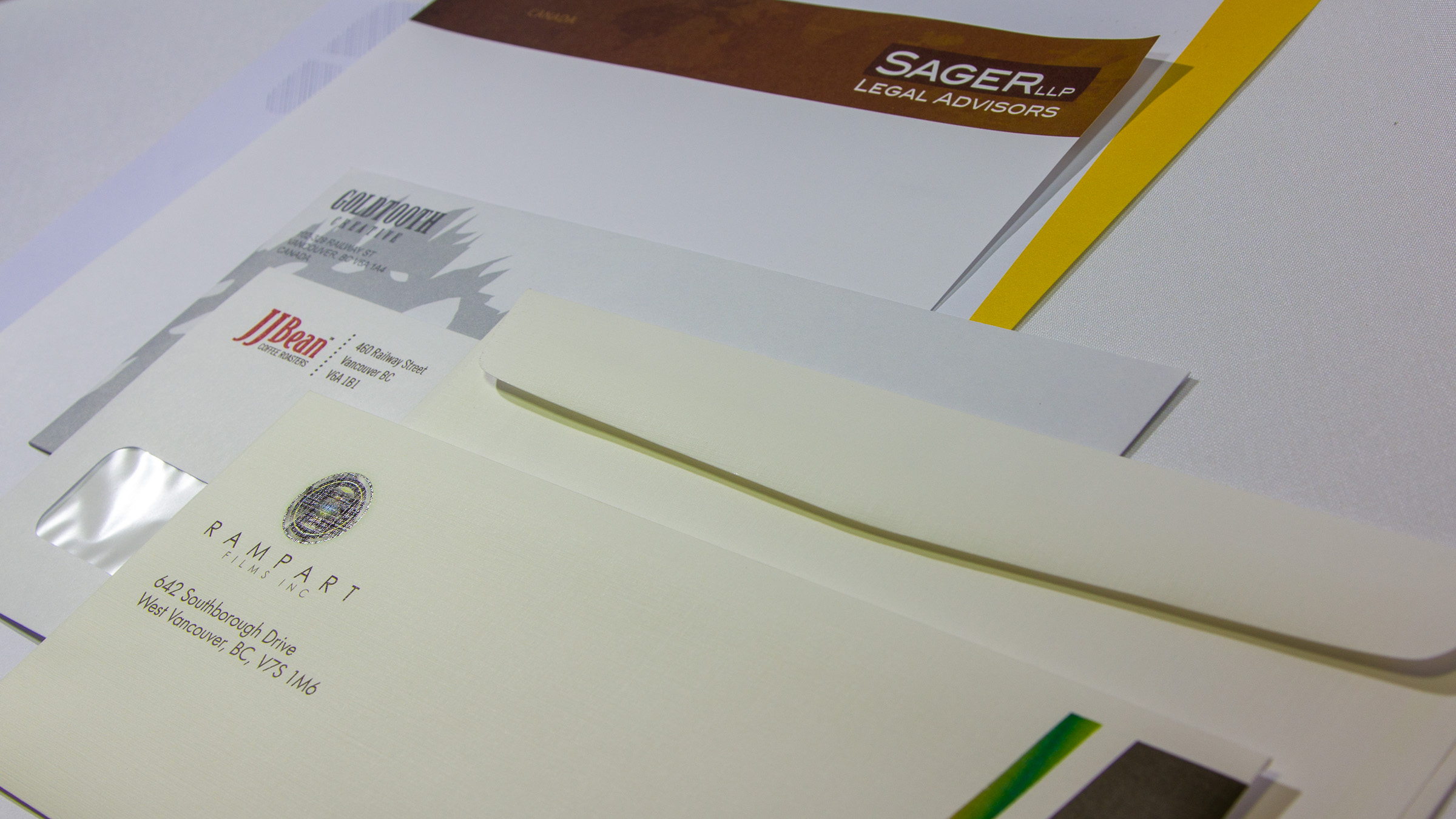 custom designed stationary packages linxprint